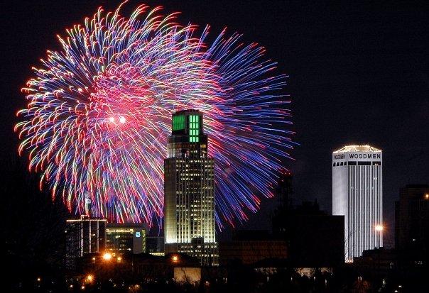 OmahaGives Fireworks