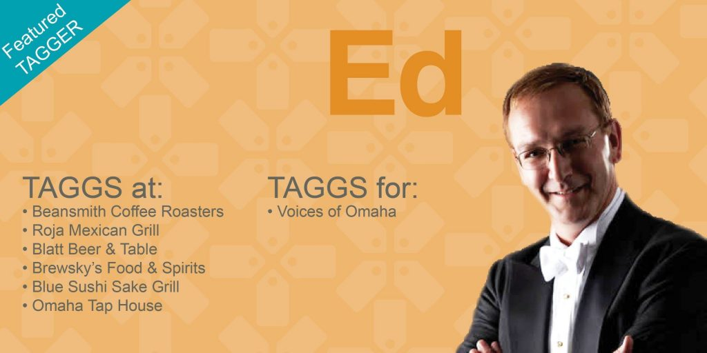 Featured TAGGer - Ed Hurd, Voices of Omaha