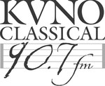 Broadcast on KVNO, FM 90.7
